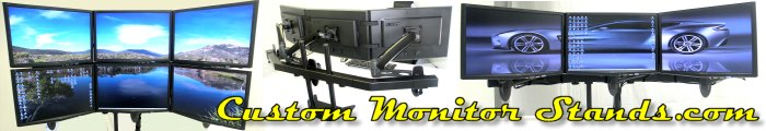 PC dual monitor mount, multiple computer monitor stand, dual monitors, multiple monitor mount, multiple lcd mount, lcd displays, lcd mounts